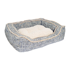 Luxury Slate & Oatmeal Bed