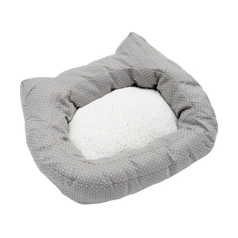 Cat-Shaped Cat Bed
