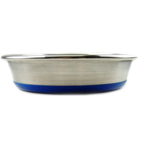 "Stainless Steel ""Superdish"" Non-Slip Cat Dish"
