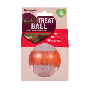 Giggling Sound Interactive Treat Ball