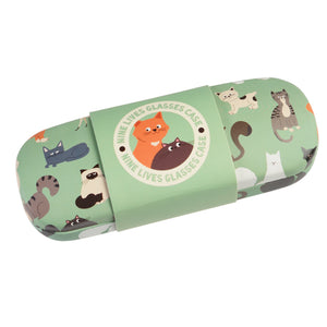 Nine Lives Accessories - Glasses Case & Cleaning Cloth