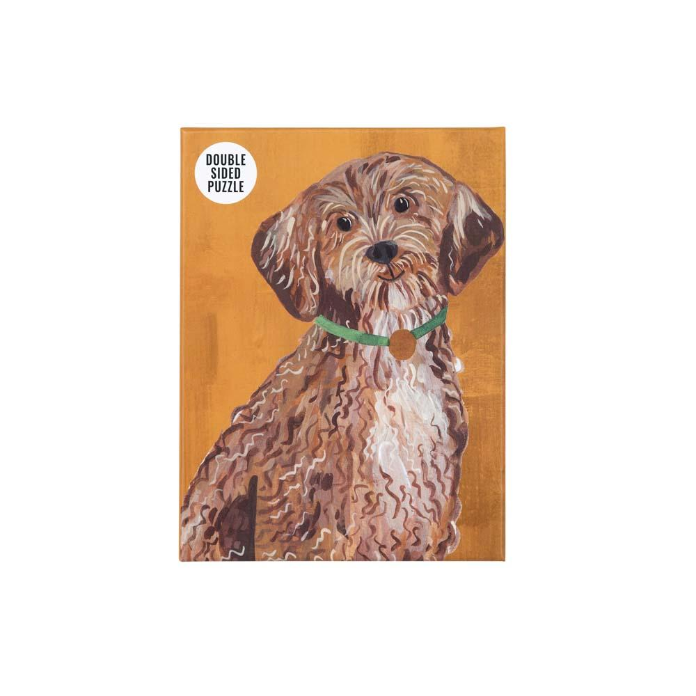 Double-Sided Cockapoo Jigsaw Puzzle