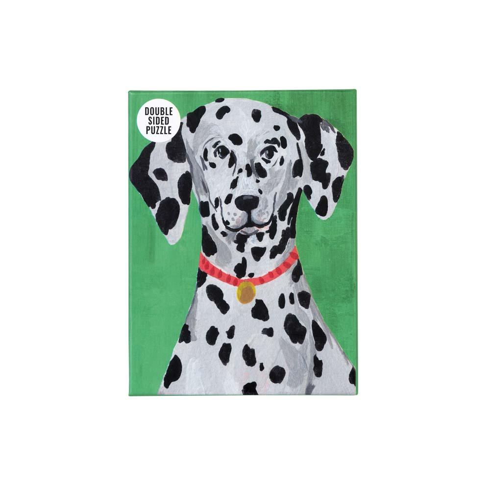 Double-Sided Dalmatian Jigsaw Puzzle
