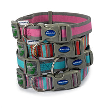Load image into Gallery viewer, Eco Dog Collar - Orange Candy Stripe