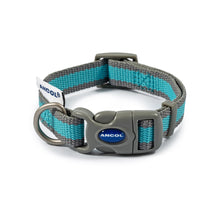 Load image into Gallery viewer, Eco Dog Collar - Blue & Grey