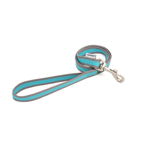 Eco Dog Lead- Blue & Grey
