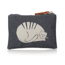 Load image into Gallery viewer, Furry Friends Cat Print Coin Purse