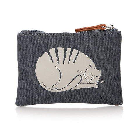Furry Friends Cat Print Coin Purse