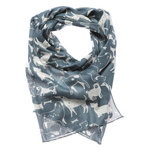 Load image into Gallery viewer, Furry Friends Dog Print Scarf