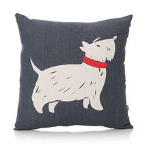 Load image into Gallery viewer, Furry Friends Scottie Dog Cushion