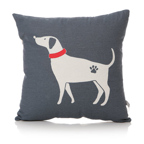 Furry Friends Laughing Dog Cushion