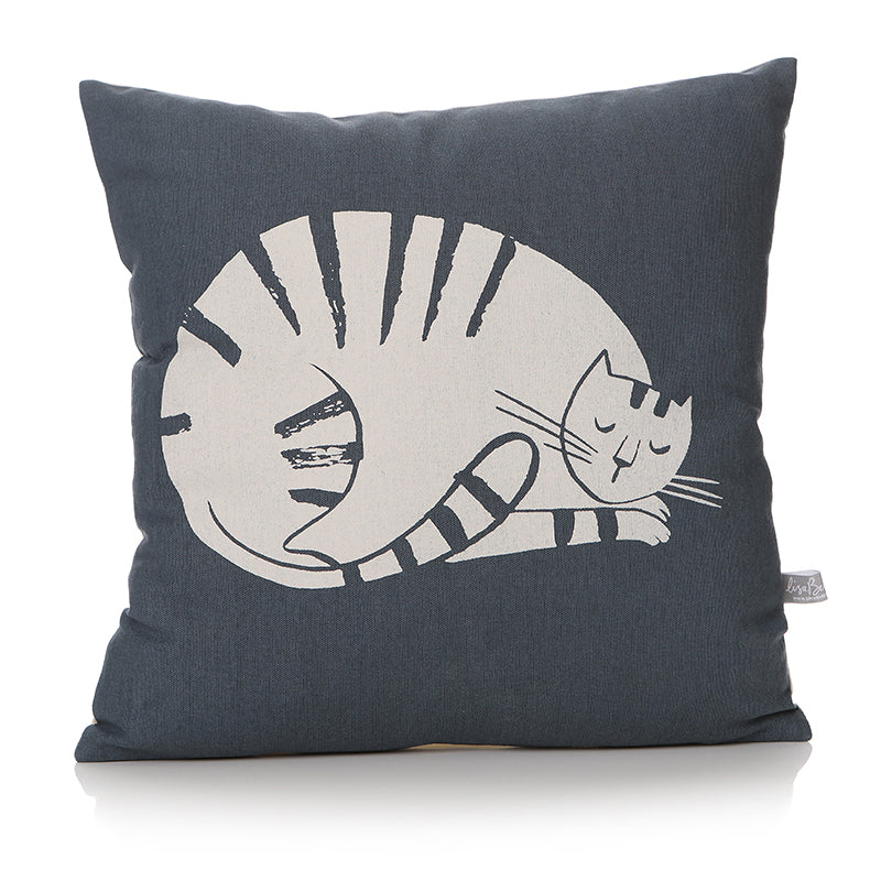Furry Friends Sleeping Cat Cushion