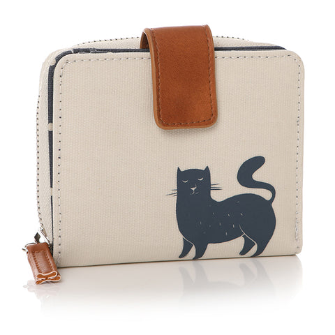 Furry Friends Cat Print Purse