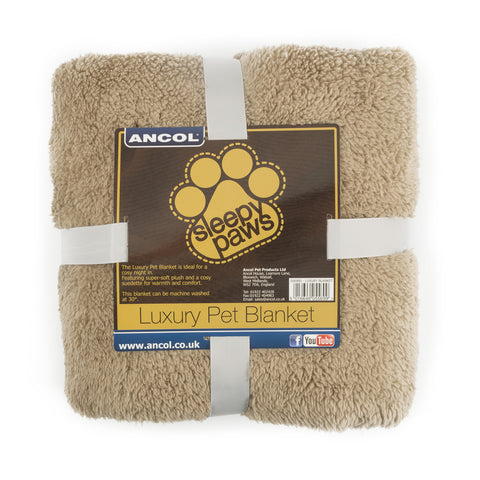 Luxury Fleece Pet Blanket