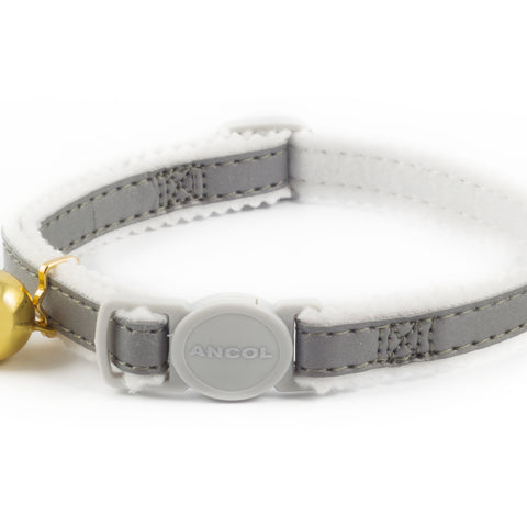 Reflective Cat Collar - Silver