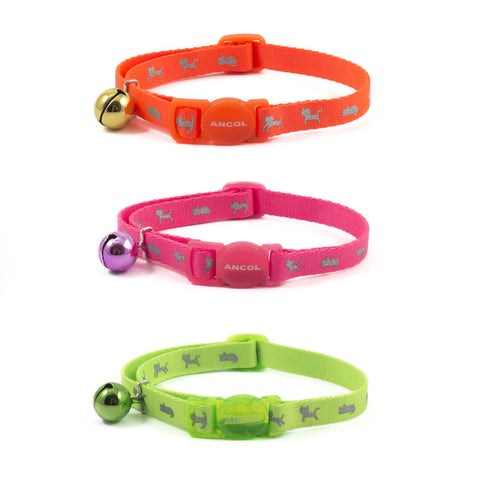 Hi Vis Safety Kitten Collar