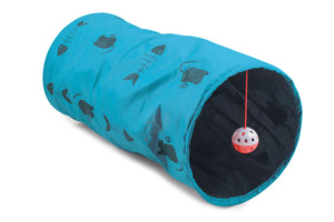 Cat Play Tunnel-Blue