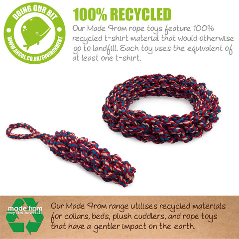 Eco Tug, Chew, Chase Rope Ring