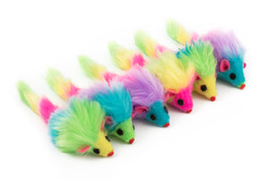 Rainbow Furry Mice