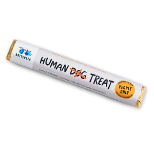 Human Treat Chocolate Bar- Salted Caramel