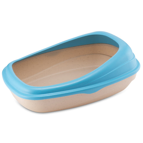 BECO Bamboo Litter Tray - Blue