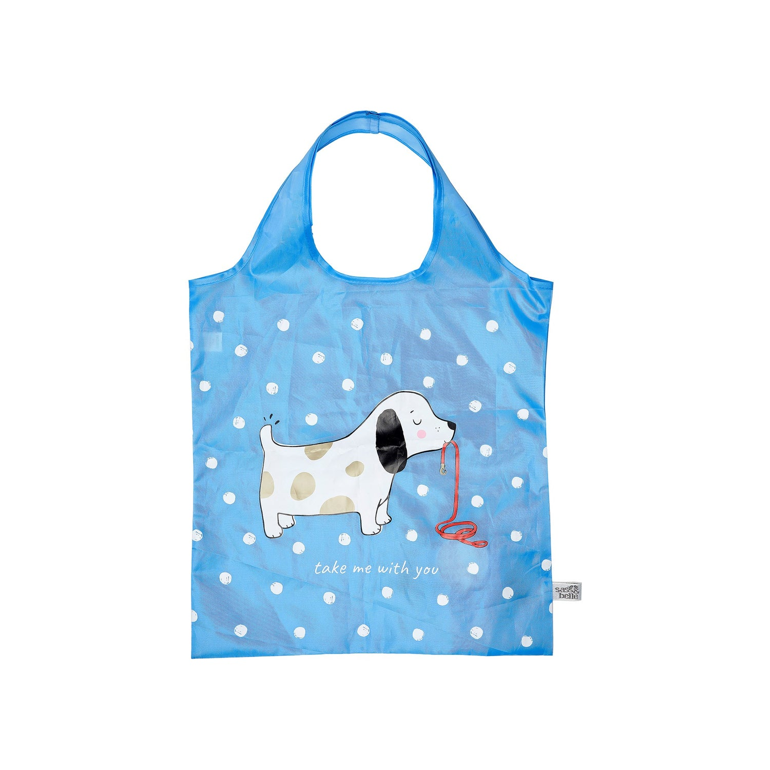 Barney the Dog Foldable Shopping Bag