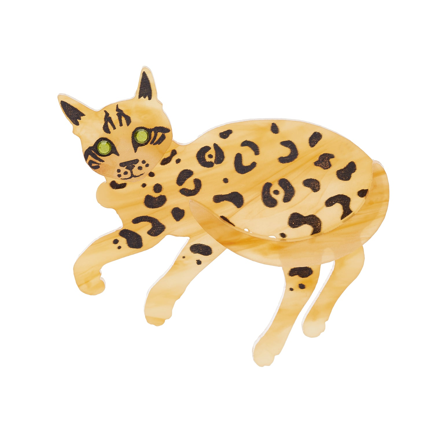 Tatty Devine Bengal Cat Brooch