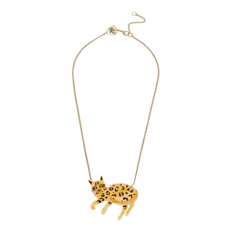 Tatty Devine Bengal Cat Necklace