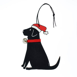 Black Lab Decoration