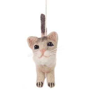 Felt Cat Decoration: Muppet