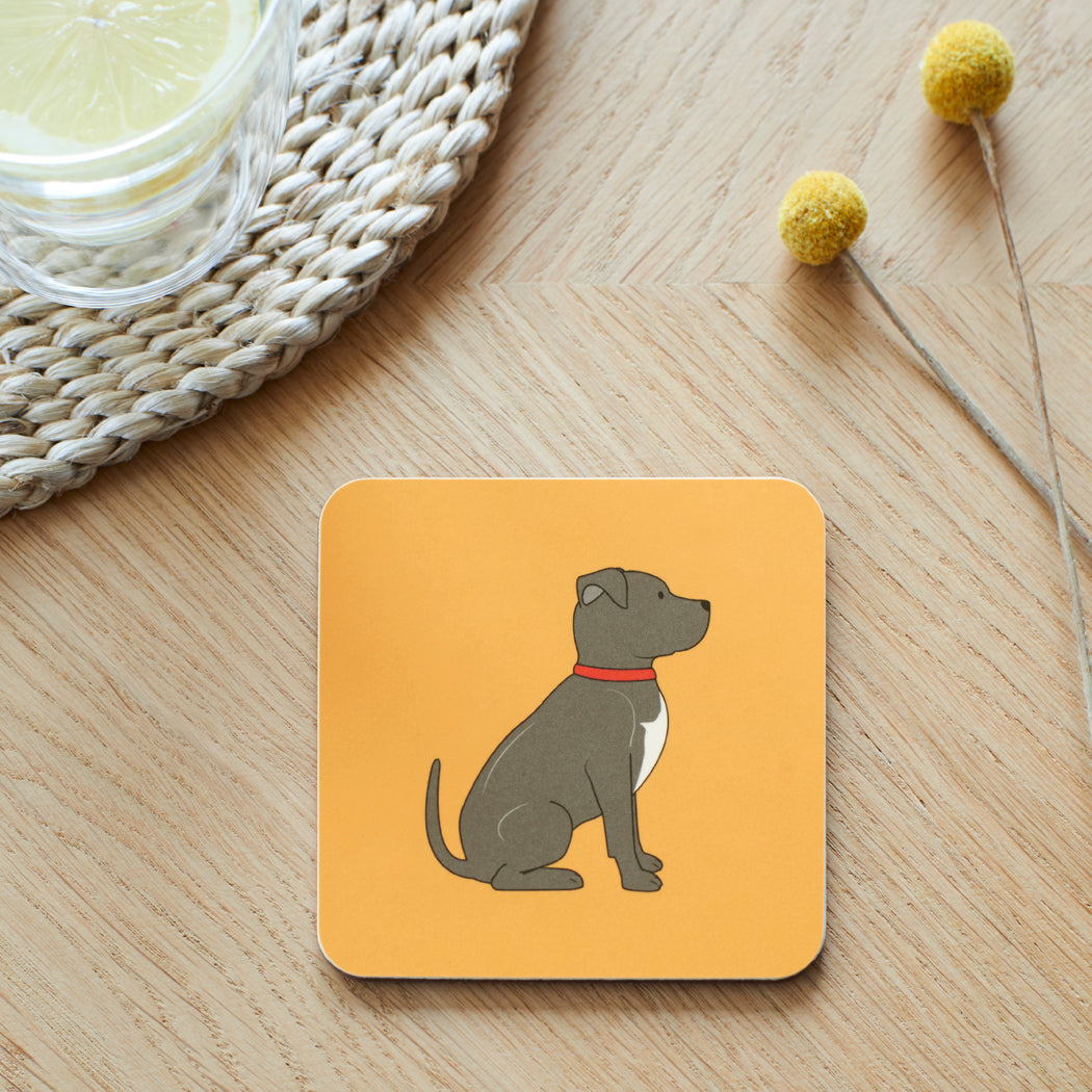 Staffie Coaster