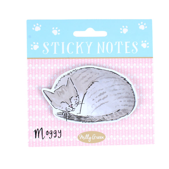 Curious Cats Sticky Notes