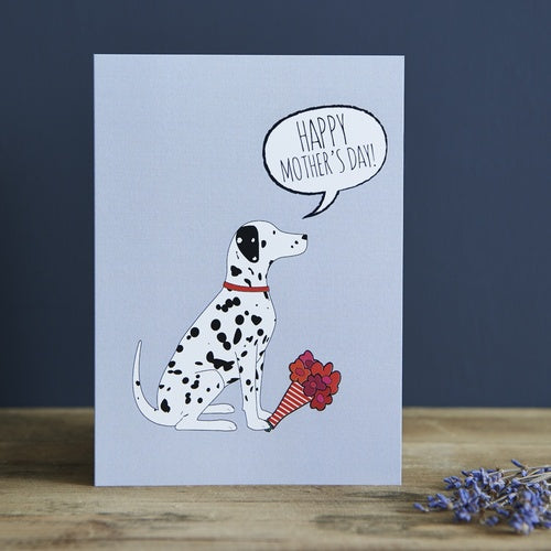 Dalmatian Mother's Day Card