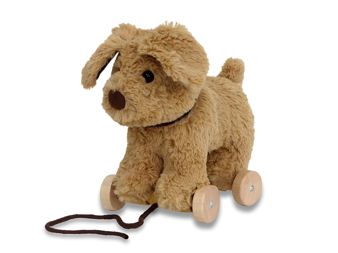 Dexter Pull-Along Dog Plush Toy