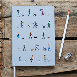 Dog Walkers Hardcover Notebook