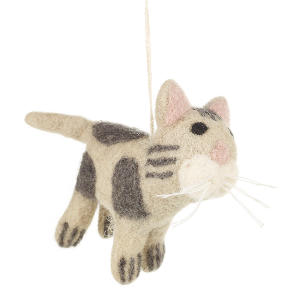 Felt Cat Decoration: Felix