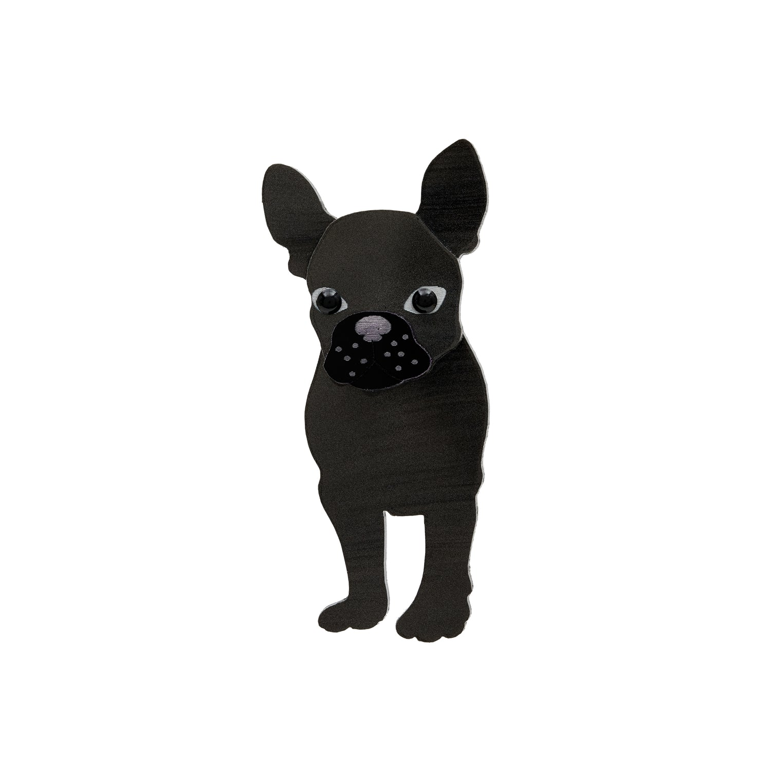 Tatty Devine French Bulldog Brooch