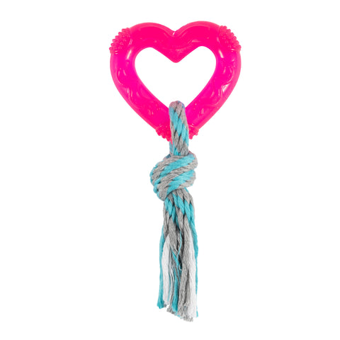 Heart and Rope Small Tug Toy