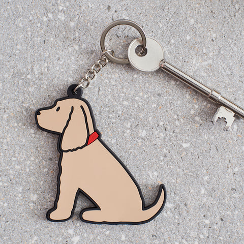 Sweet William Golden Cocker Spaniel Keyring