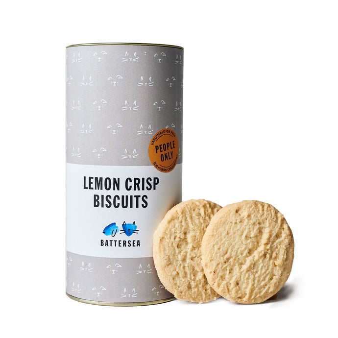 Lemon Crisp Biscuits