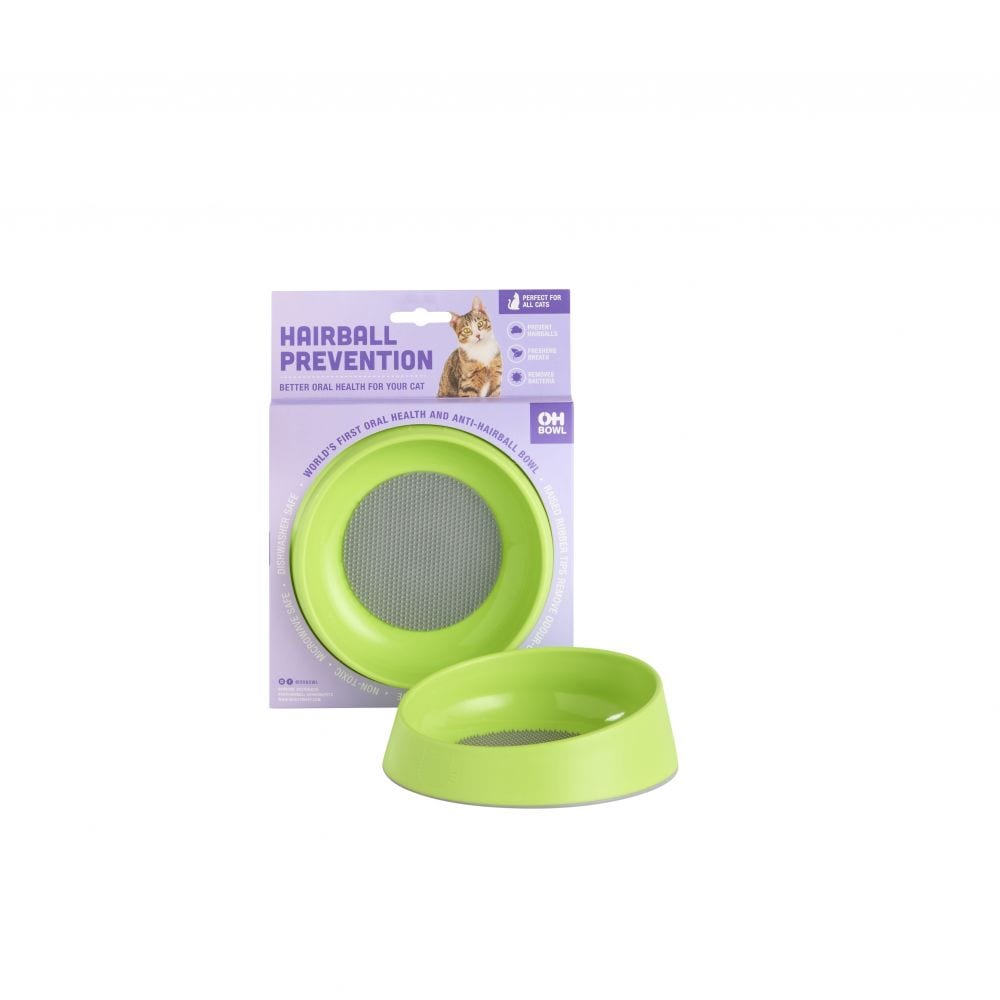 Oh Cat Hairball Prevention Bowl