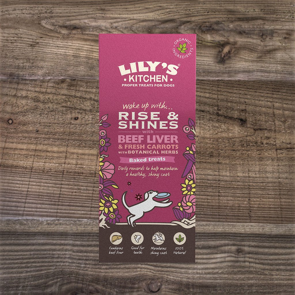 Lily's Kitchen Organic Rise & Shine Biscuits