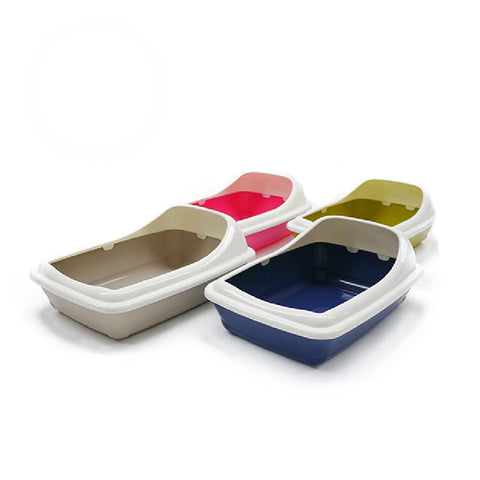 Large Litter tray with Rim