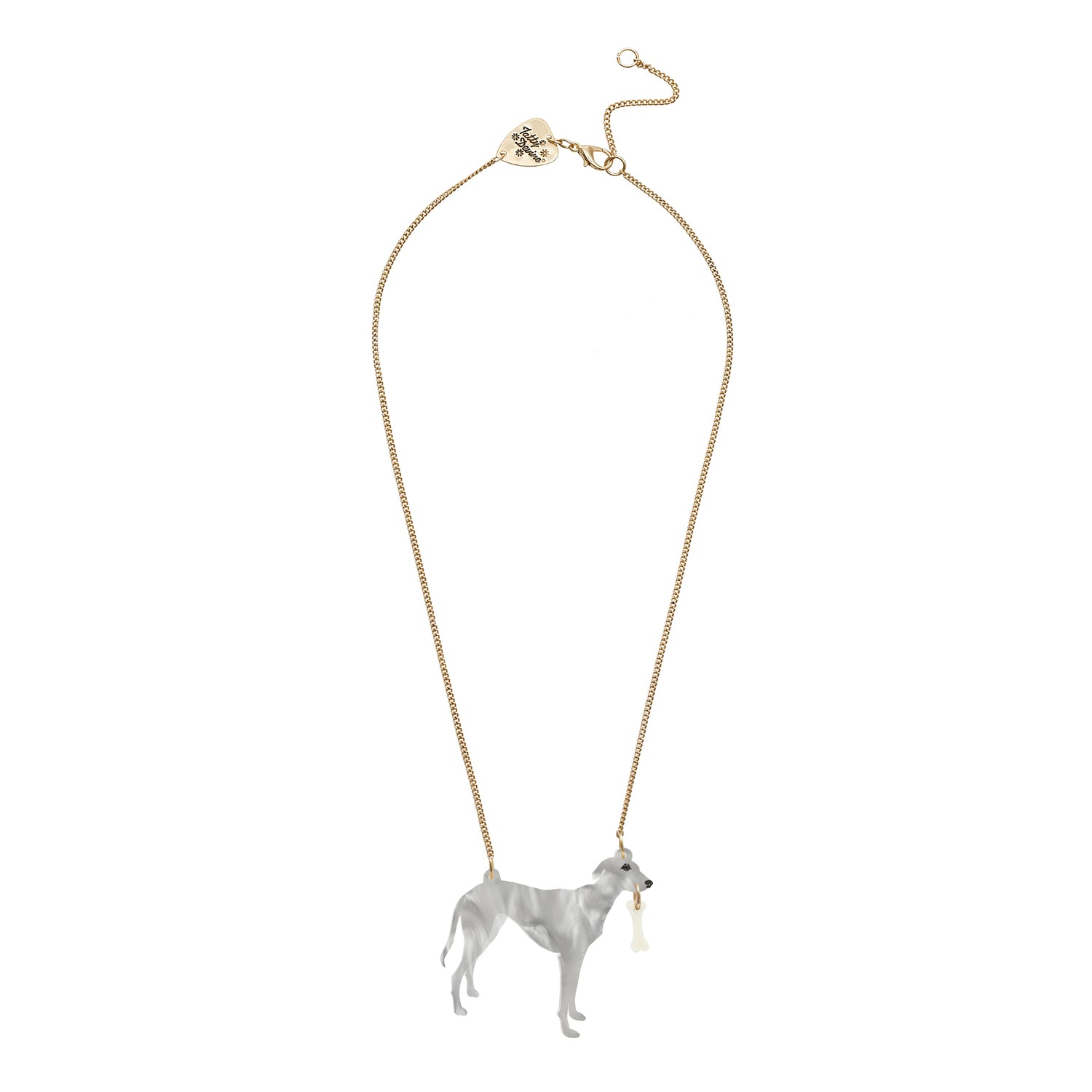Tatty Devine Lurcher Necklace