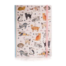 Load image into Gallery viewer, Curious Cats Soft Bound A5 Notebook