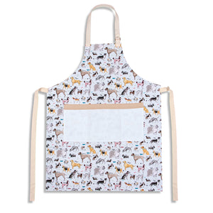 Debonair Dogs Canvas Apron