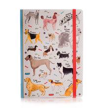 Load image into Gallery viewer, Debonair Dogs A5 Soft Bound Notebook