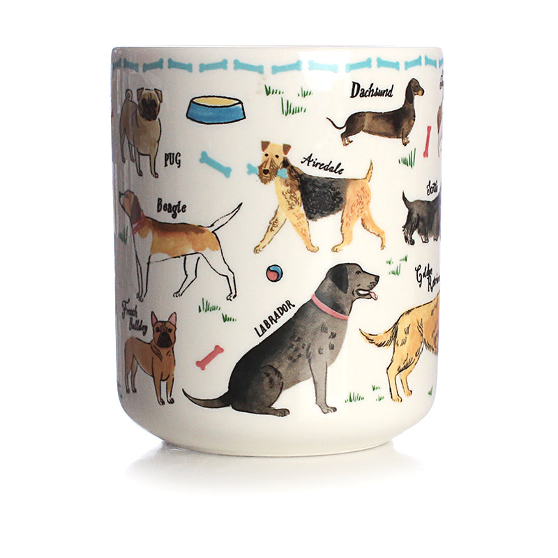 Debonair Dog Ceramic Pen Pot