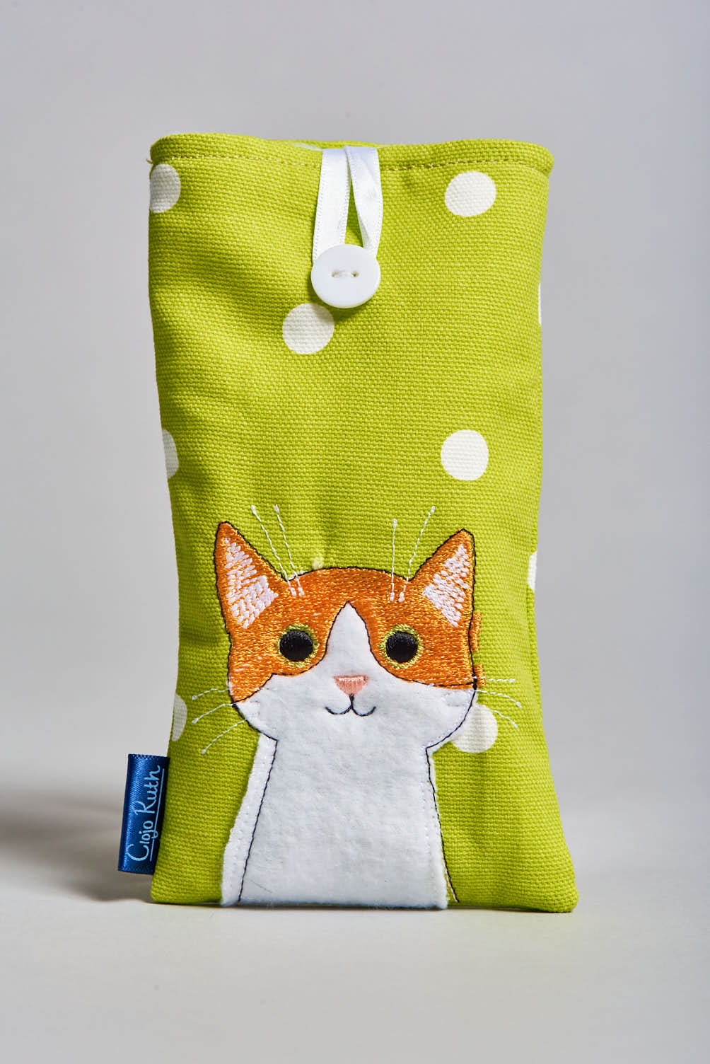 Clojo Eyeglass Case - Ginger Cat