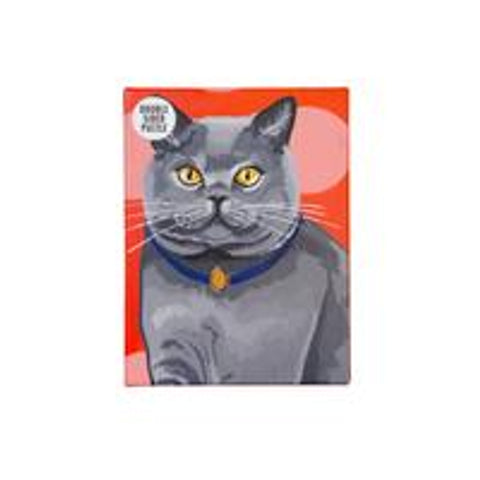 Double-Sided British Short-Haired Cat Jigsaw Puzzle